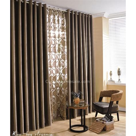 thermal and sound proof style color room curtains