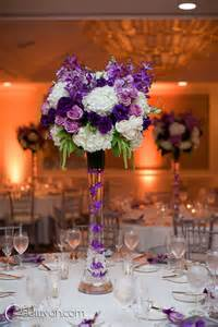 Flower Centerpieces For Weddings Best 25 Purple Wedding Centerpieces Ideas On Pinterest Purple Wedding Decorations Purple