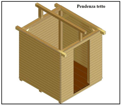 Come Costruire Un Tetto A Una Falda by Come Costruire Una Casetta Porta Attrezzi Per Il