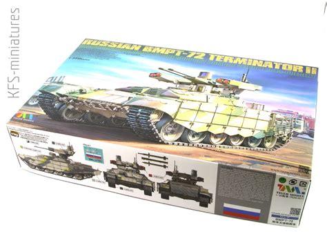 Tiger 135 Terminator 2 1 35 bmpt 72 terminator ii tiger model kfs miniatures