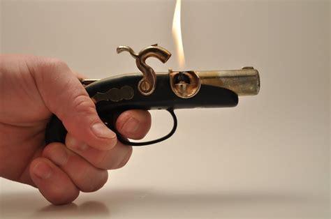 tattoo gun lighter working pirate pistol gun table lighter pistols lighter