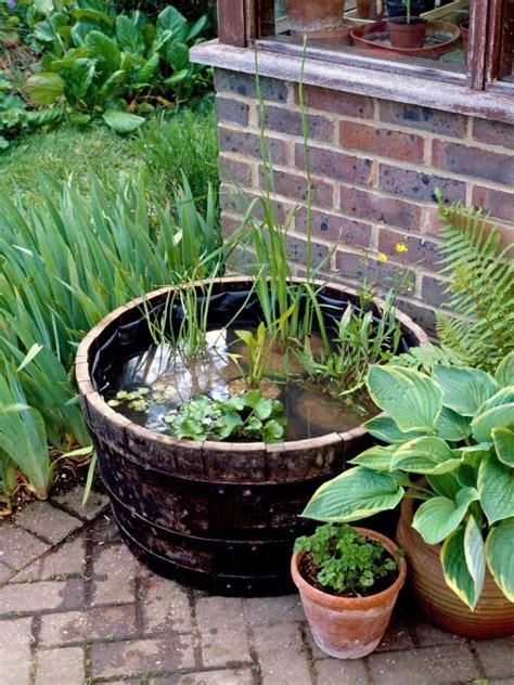 amazing ideas     mini ponds  pots page