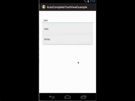 tutorial android json mysql android autocompletetextview exle json youtube