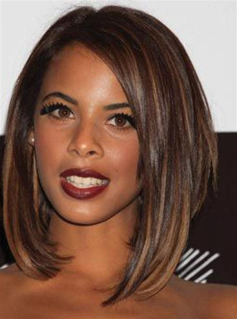 15 collection of bob hairstyles for old women with thin hair 15 best collection of medium bob hairstyles for black women