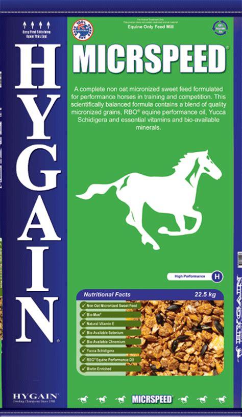 hygain tracktorque high energy racehorse sweet feed