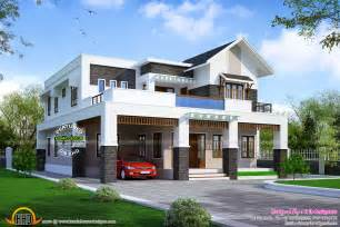 Modern Square Home Design News by April 2015 Kerala Home Design And Floor Plans