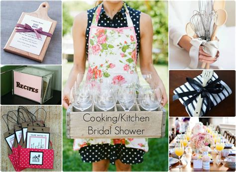 kitchen shower ideas cooking or kitchen themed bridal shower inspiration