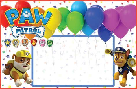 paw patrol 161 entra en acci 243 n ideas para fiesta de