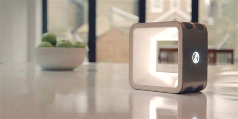 beacon smart home device combines air monitoring light