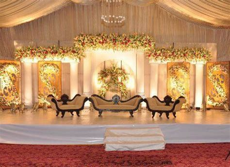 Stage Decoration ideas Pakistan   Drapes and Aisles decor