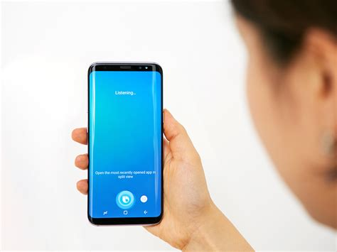 samsung bixby samsung releases bixby voice preview to select galaxy s8 galaxy s8 users is a global release