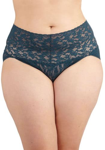 Navy Undies hanky panky lacy and lovely undies in navy plus size