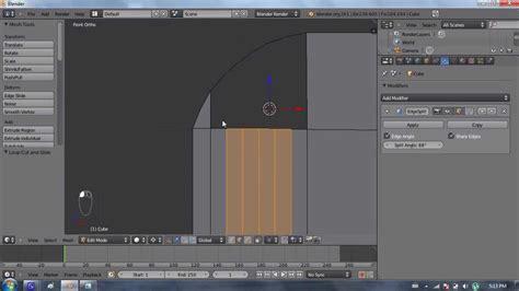 edit video with blender tutorial blender 2 6 tutorial 23 edit mode 2 custom shapes youtube