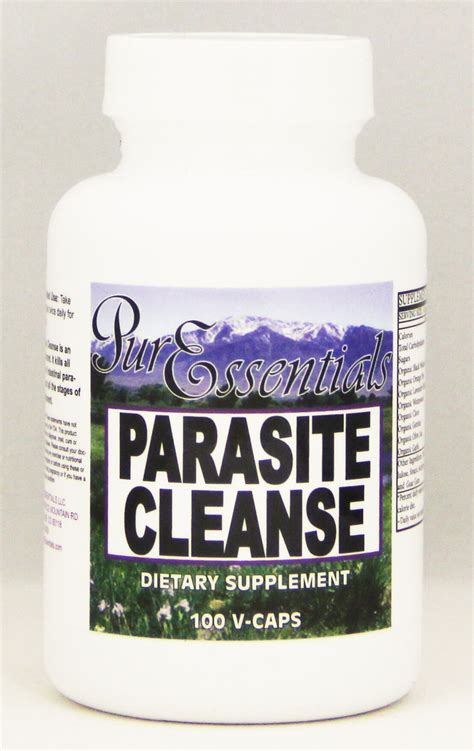 Parasite Detox Cleanse by Parasite Cleanse Vegetable Capsules Essentials Llc