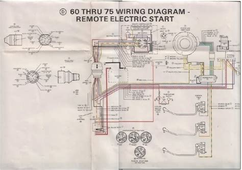 mercury 75 hp outboard wiring diagram wiring diagram