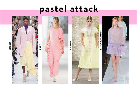 Pastel Blouse Mode Colour ss18 development report get forward get em in your