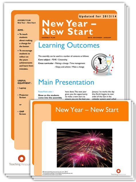 new year assembly schools teaching resources support resources free and