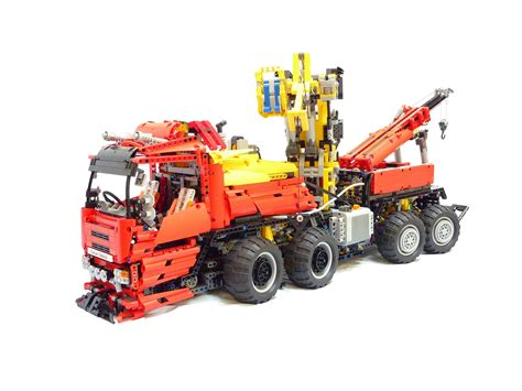 lego technic truck lego rc tow truck 12 pounds of technic 14 functions 1