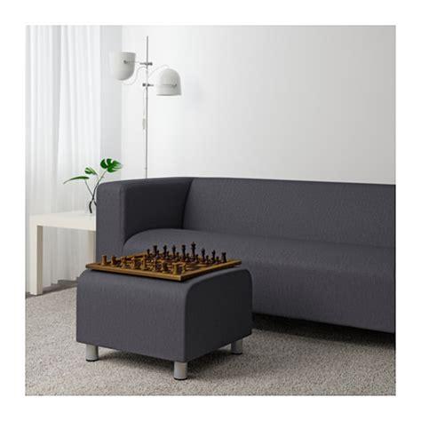 Klippan Sofa Cover Grey by Klippan Pouffe Flackarp Grey