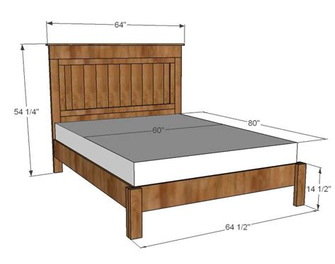 dimensions of a queen size bed frame best 25 queen bed frames ideas on pinterest simple bed
