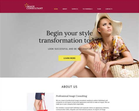 fashion design outlook 77 fashion designer website themes free templates