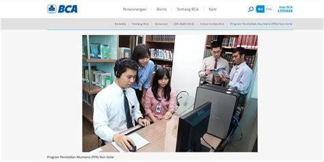 bca ppa khusus lulusan sma dan smk ini program beasiswa dari bca