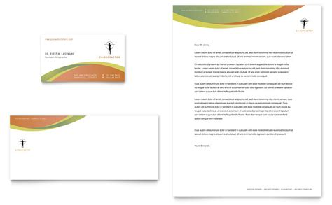 chiropractic travel card template chiropractic business card letterhead template