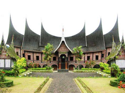 gambar rumah adat gadang contoh desain rumah