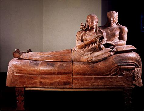 Sarcophagus Of Reclining by History 003 Gt Morales Gt Flashcards Gt Gods And