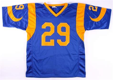 rams careers sports memorabilia auction pristine auction