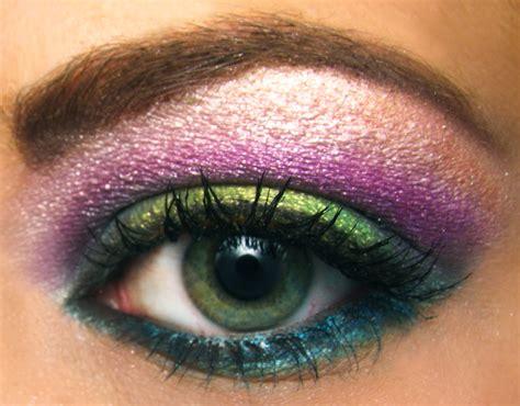 colorful summer rainbow eyeshadow portrait pumpkincat210