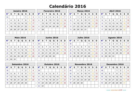 As Calendario Calend 225 2016 Calendarios 2016 Para Imprimir