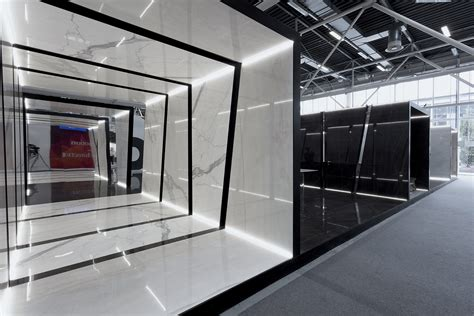 booth design architecture fiandre architectural surfaces exhibition 2015 matteo