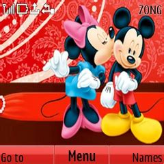 theme nokia c3 mickey mouse download mickey and minnie mouse nokia theme mobile toones