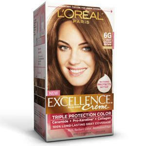 l oreal excellence creme kit 6g light golden brown 071249210611a699 ebay excellence 174 creme 6g light golden brown l oreal hair style and tips