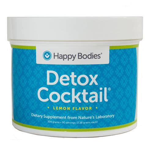 Happy Detox by Detox Cocktail Mix 30 Individual Serving Packets