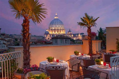 best spa in rome hotel raphael relais chateaux h 244 tel boutique rome