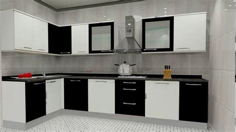 Kitchen Modular Designs Small L Shaped Modular Kitchen Designs