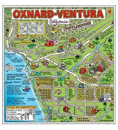 oxnard california the map capital of the world