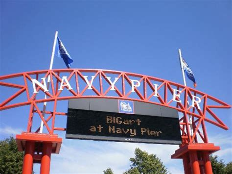 navy pier 5mins by free shuttle from hotel picture of