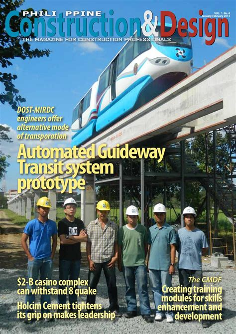 ambush mag volume 31 issue 18 2013 philippine construction design magazine issue 4 jan