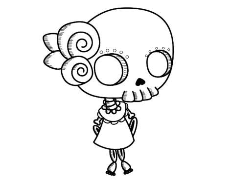 imagenes tumblr para colorear dibujo de ni 241 a cadaver para colorear dibujos net