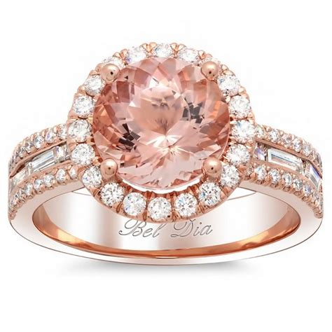 rose gold engagement rings for women 12 life n fashion