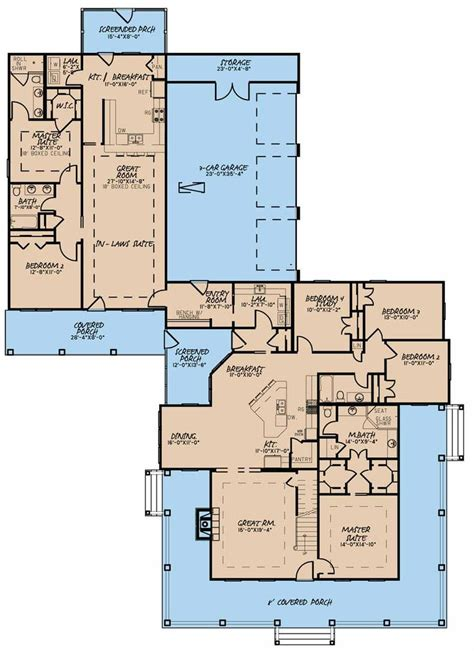 House Plans With Guest Suite by Guest Suite House Plans Escortsea