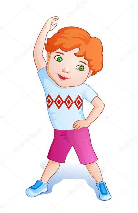 imagenes niños haciendo ejercicio fisico ni 241 o haciendo ejercicios archivo im 225 genes vectoriales