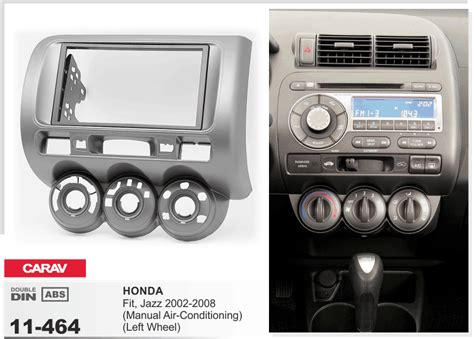 automobile air conditioning repair 2008 honda fit parental controls carav 11 464 012 002 car radio face fascia facia panel frame for honda fit jazz ebay