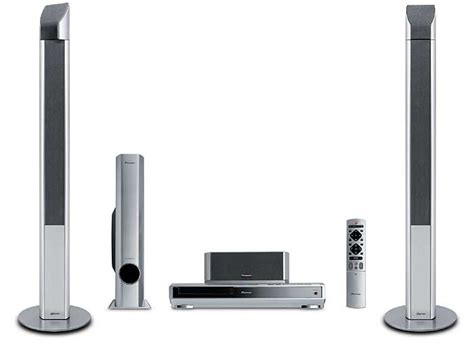 htz 740dv complete dvd 5 1 audio system with front