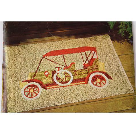 antique rug patterns punch needle rug pattern antique car