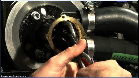 replacing  raw water pump funnydogtv