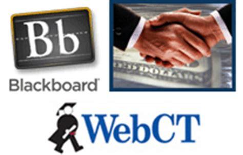 Mba Org Blackboard by Blackboard Gets Rid Of Webct
